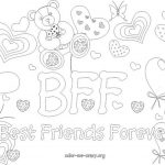 Free Bff Coloring Pages To Print For Kids. Description From   Free Printable Bff Coloring Pages