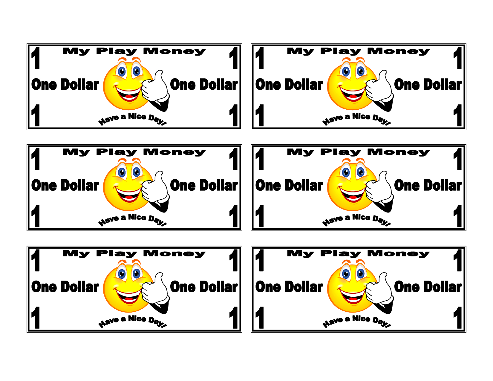 Free Blank Dollar Bill Template, Download Free Clip Art, Free Clip - Free Printable Dollar Bill Template