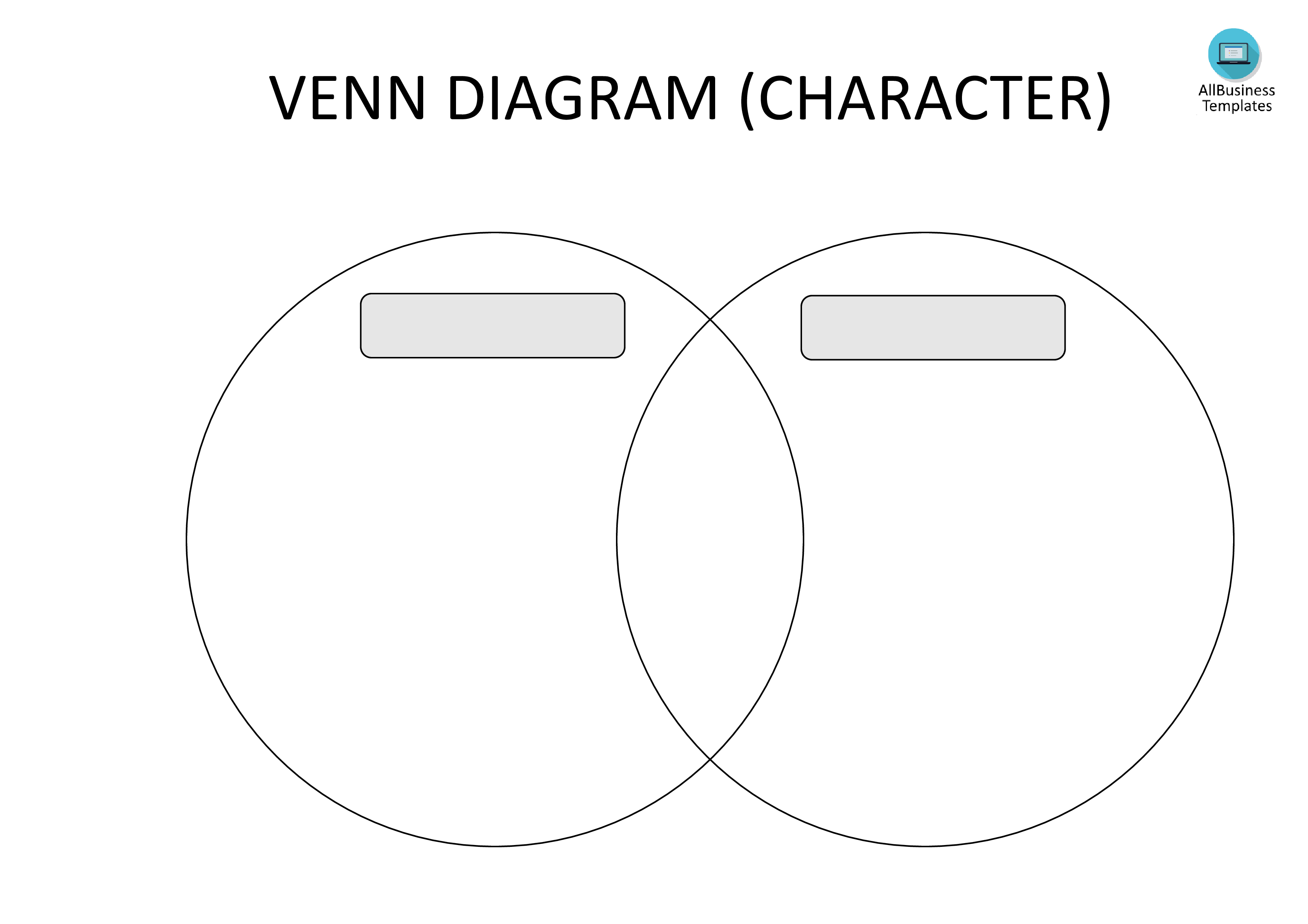 Free Blank Venn Diagram Template | Templates At - Free Printable Venn Diagram