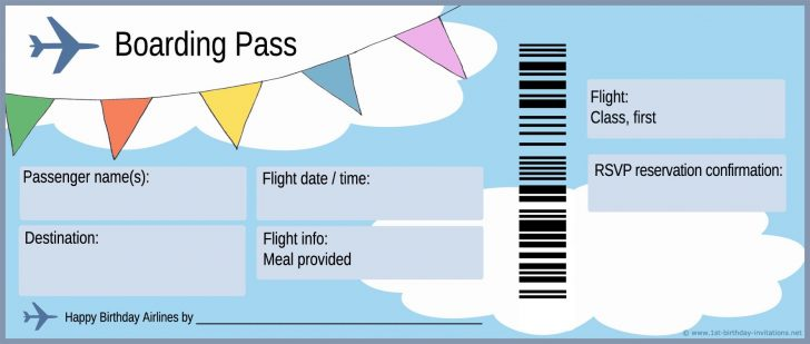 Free Printable Airplane Template