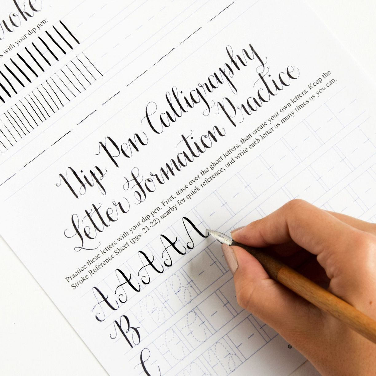 Free Calligraphy Worksheets | Lostranquillos - Free Printable Calligraphy Worksheets