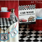 Free Cars Birthday Party Printables   Free Printable Cars Food Labels