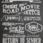 Free Chalkboard Fonts And Free Printable | Fonts   Free Printable Fonts