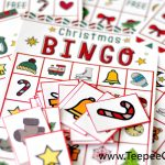 Free Christmas Bingo Game Printable – Free Bingo Patterns Printable