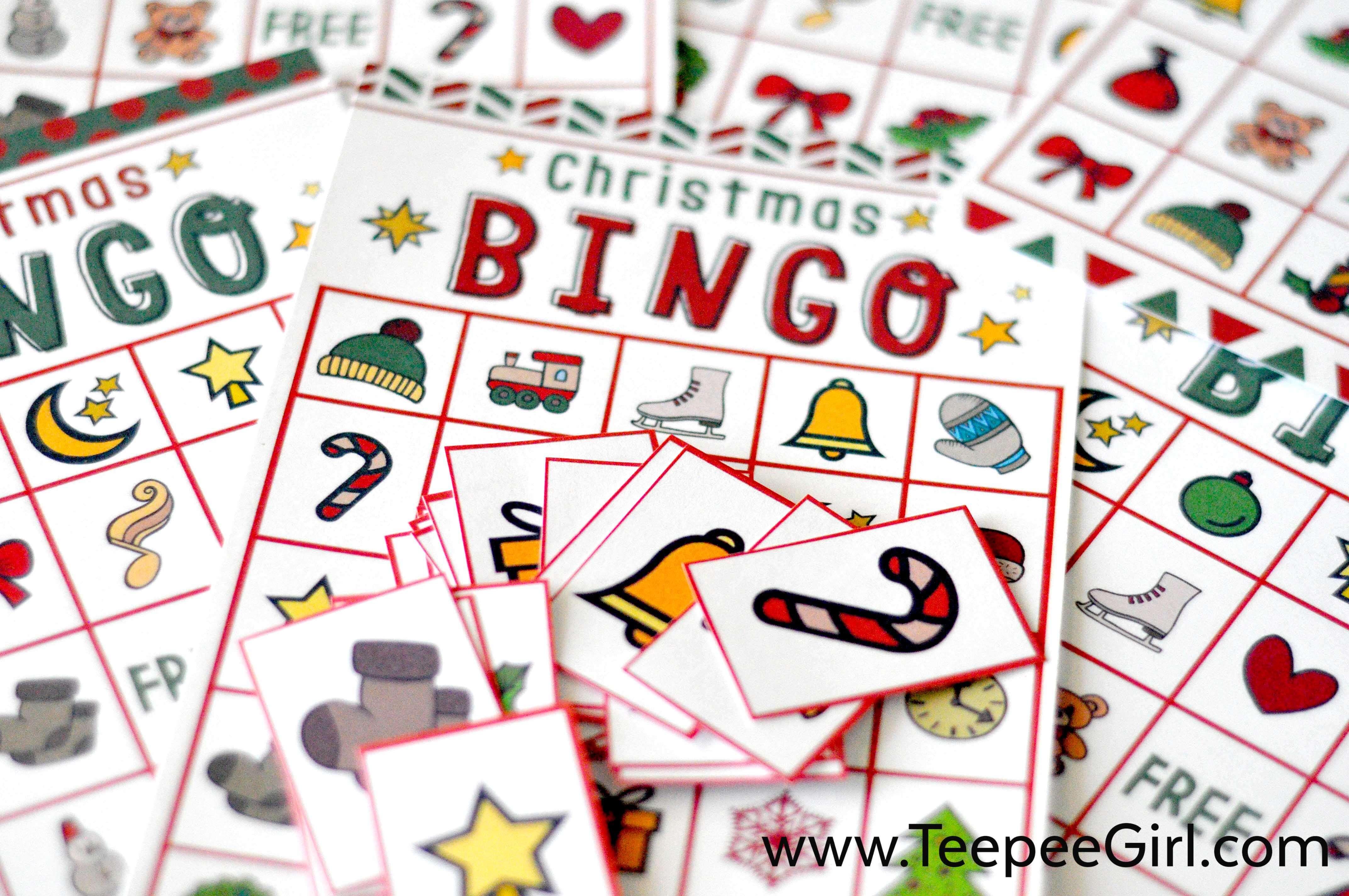 Free Christmas Bingo Game Printable - Free Printable Christmas Bingo