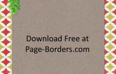 Free Printable Christmas Paper With Borders