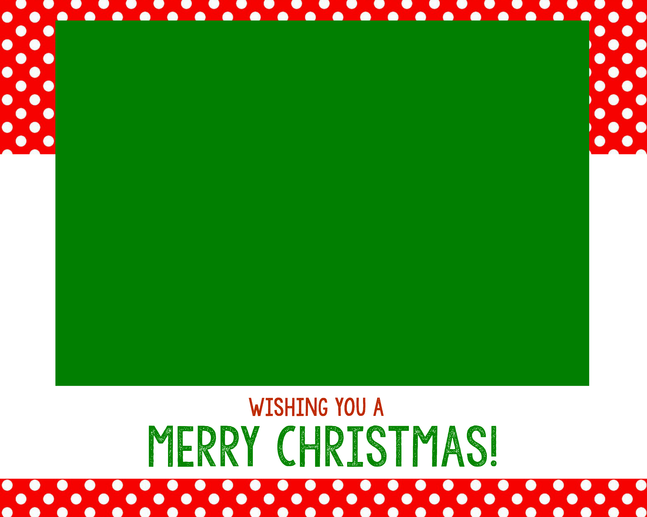 Free Christmas Card Templates - Crazy Little Projects - Free Online Printable Christmas Cards