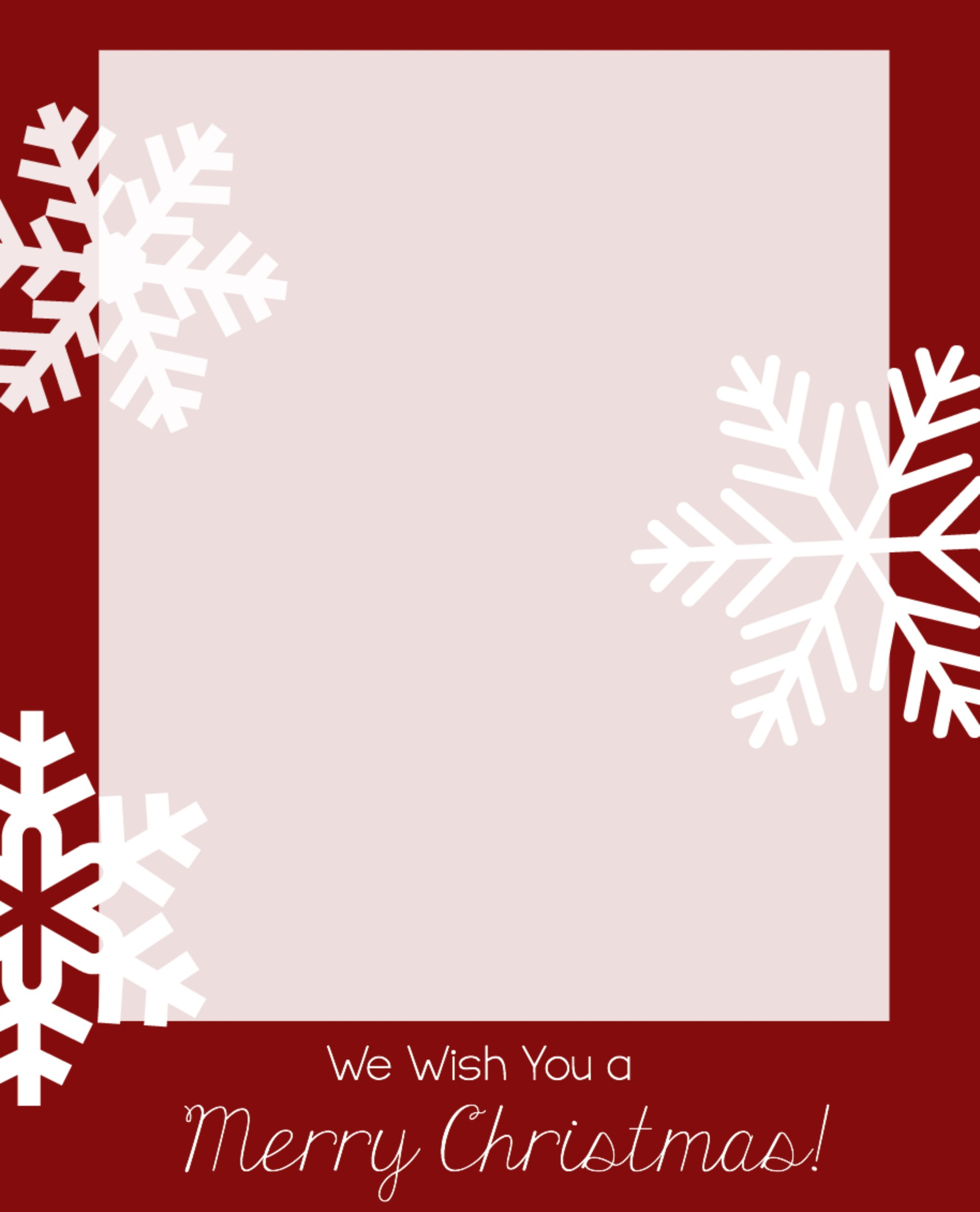 Free Christmas Card Templates - Crazy Little Projects - Free Printable Christmas Card Templates