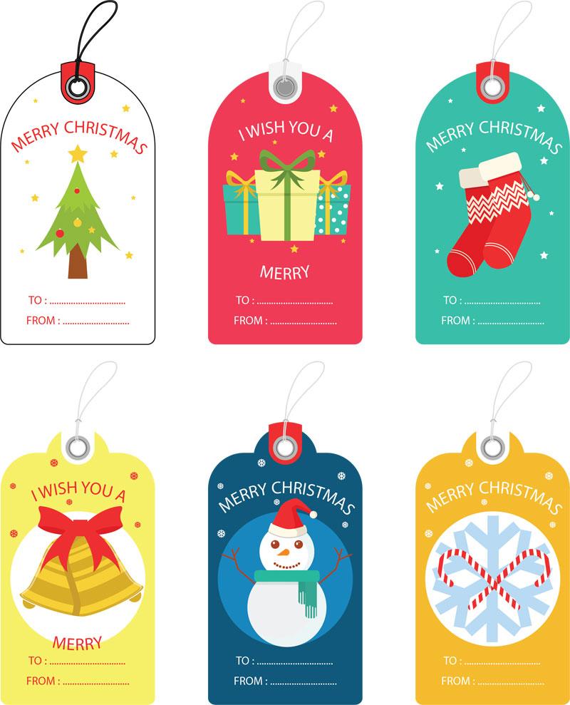 Free Christmas Gift Tag Templates - Editable & Printable - Free Printable Gift Tags Personalized