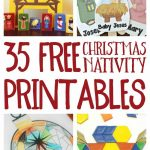 Free Christmas Nativity Printables And Coloring Pages   Free Printable Christmas Baby Jesus Coloring Pages