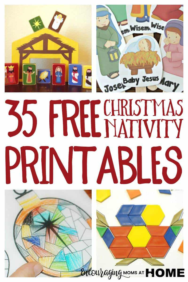 Free Christmas Nativity Printables And Coloring Pages - Free Printable Pictures Of Nativity Scenes