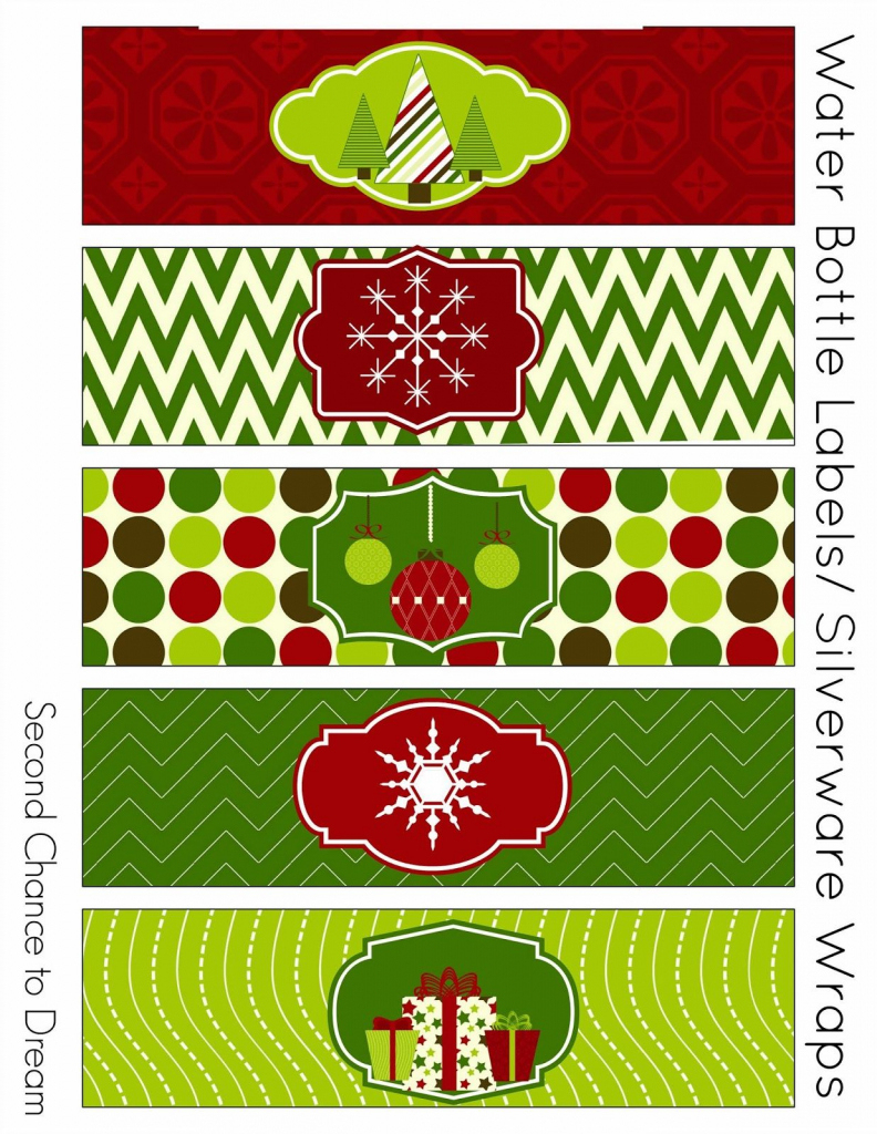 Free Christmas Party Printables | Pinterest | Party Printables - Christmas Water Bottle Labels Free Printable