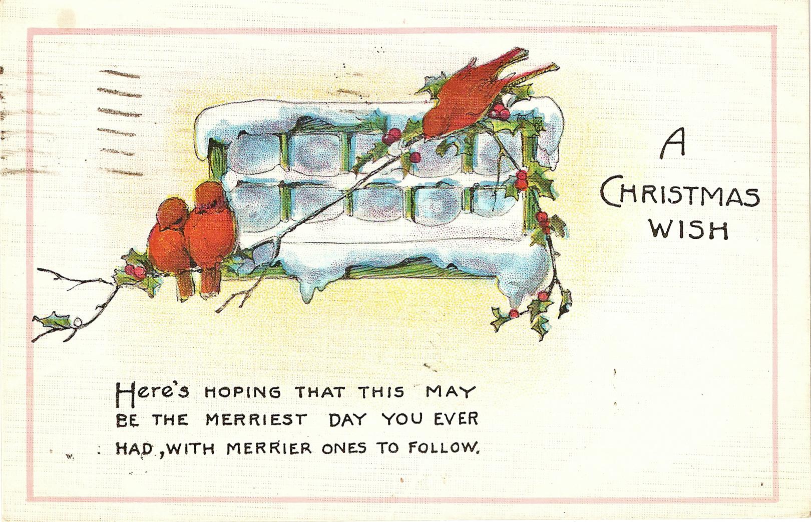 Free Christmas Printable & Vintage Christmas Clip Art » Maggie - Free Printable Vintage Christmas Clip Art