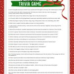 Free Christmas Trivia Game | Lil' Luna   Free Printable Christmas Riddle Games