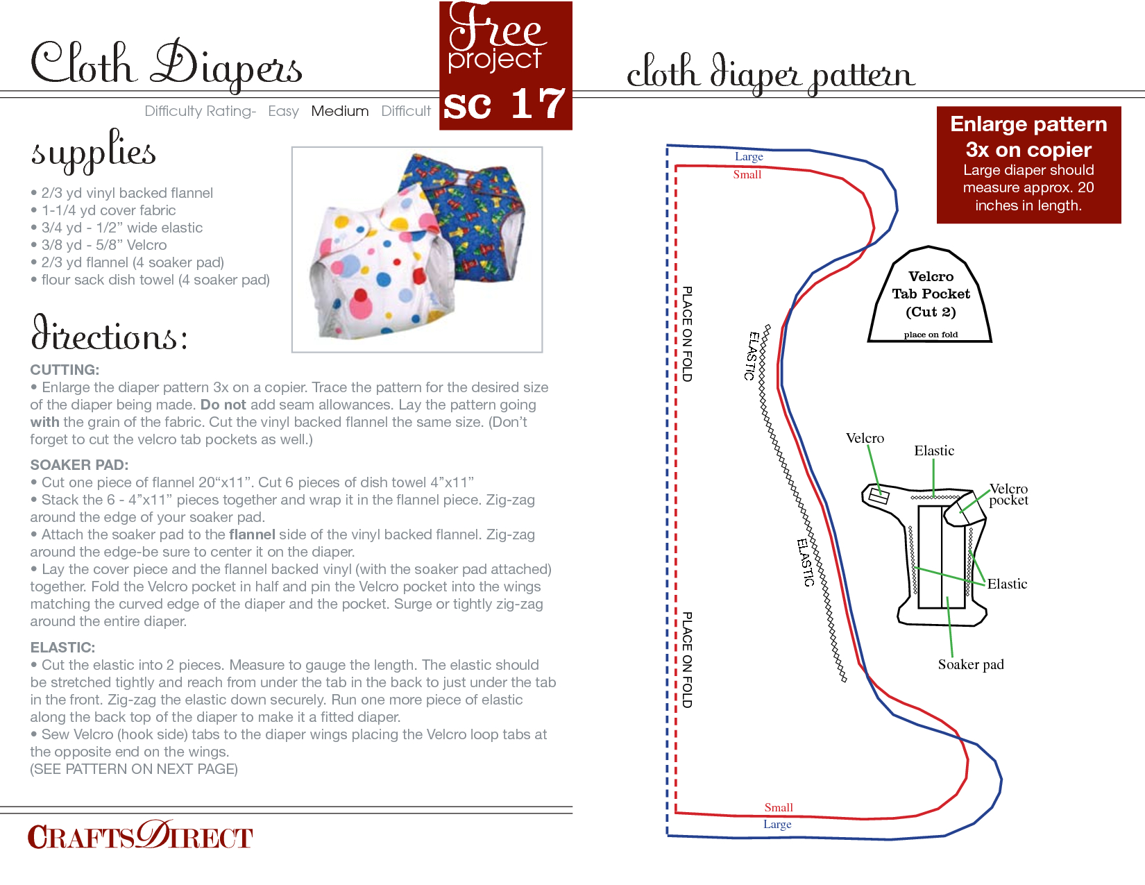 Free Cloth Diaper Patterns   Cloth Diaper Pattern_My Free Diaper - Cloth Diaper Pattern Free Printable