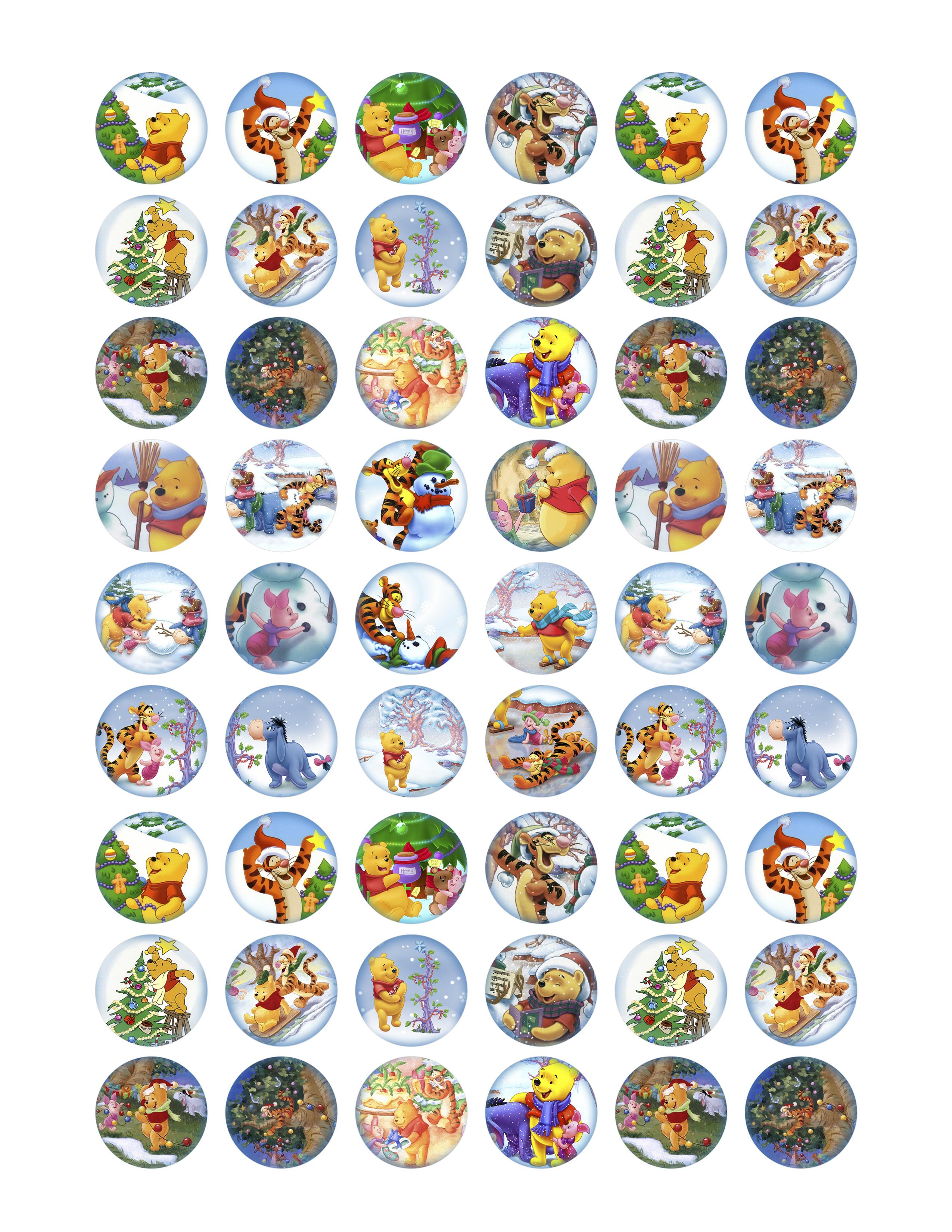 Free Collage Sheets | Bottlecap4U - Free Printable Cabochon Templates