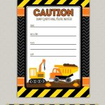 Free Construction Birthday Party Printables. Construction Party   Free Printable Construction Invitations