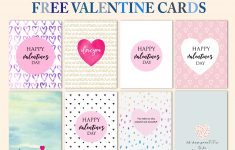 Free Cool Valentine Cards To Print: New Designs! – Free Printable Valentine Cards For Husband