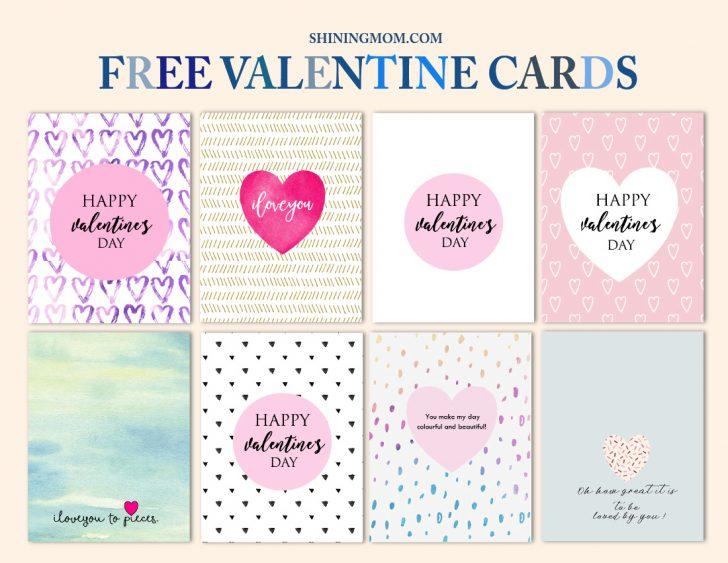 Free Printable Valentine Cards For Husband
