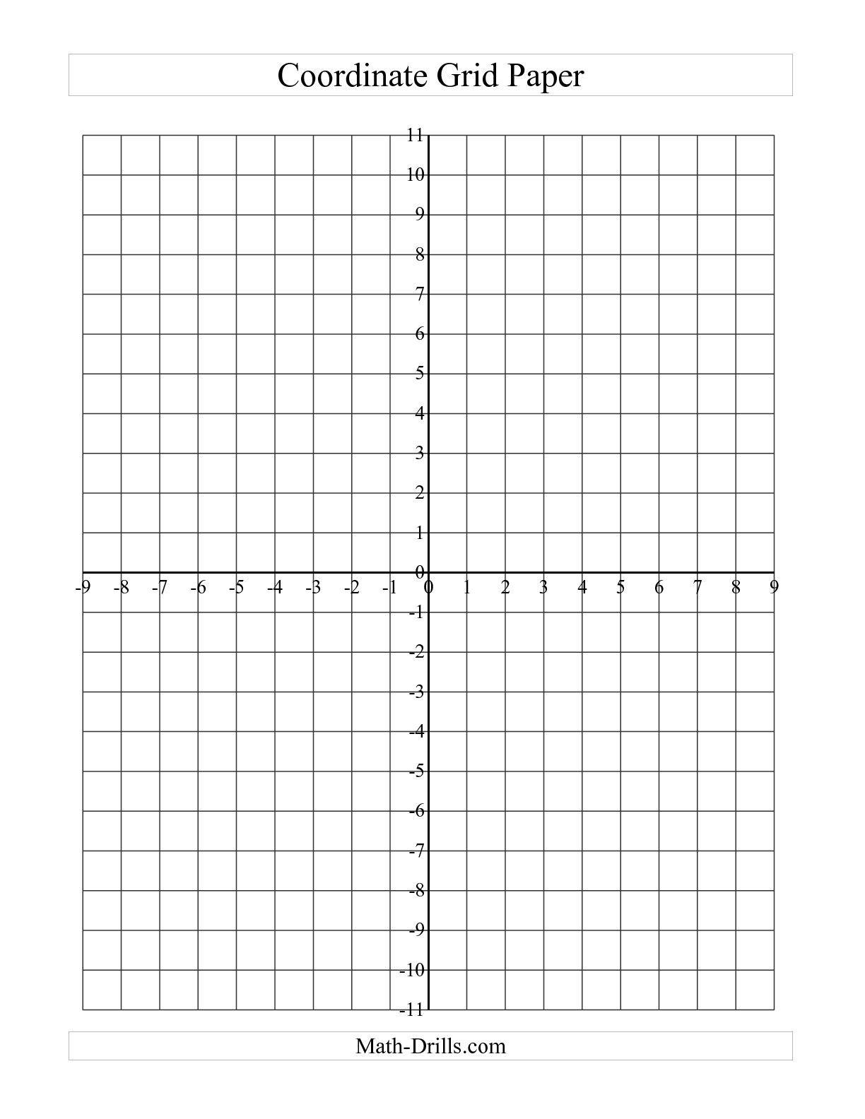 Free Coordinate Grid Worksheets - Siteraven - Free Printable Coordinate Grid Worksheets