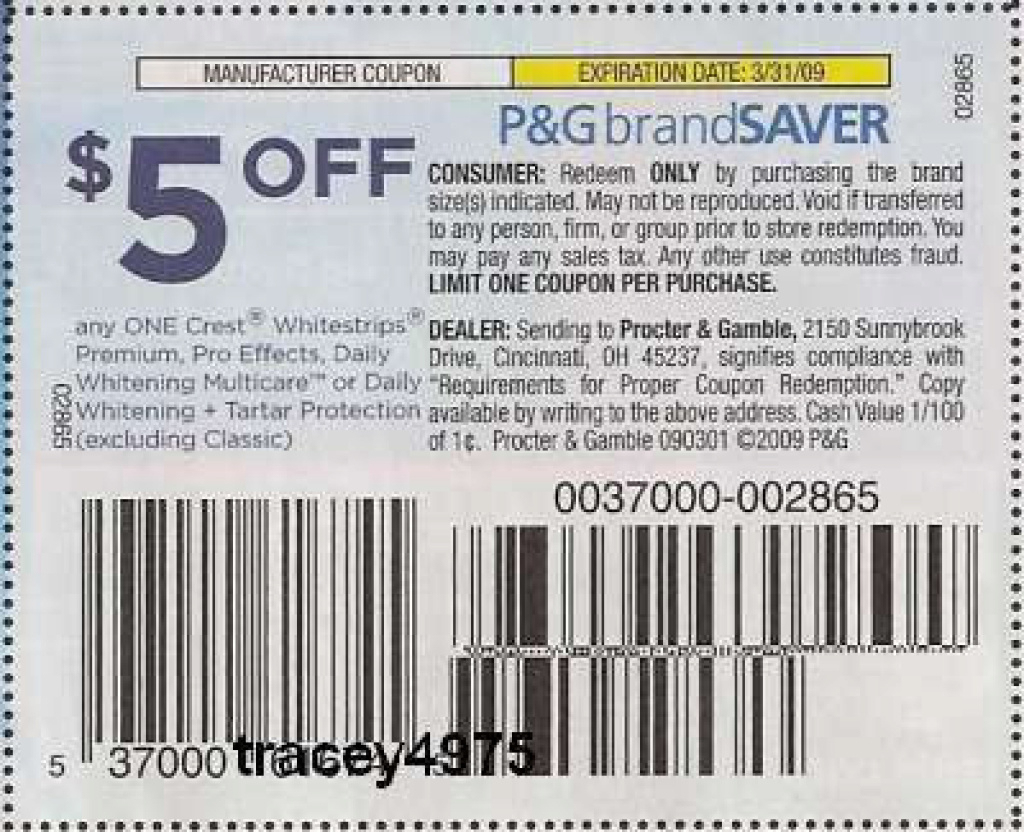 Free Coupons Online: Crest Coupon: Printable Crest Toothpaste Coupon - Free Printable Crest Coupons