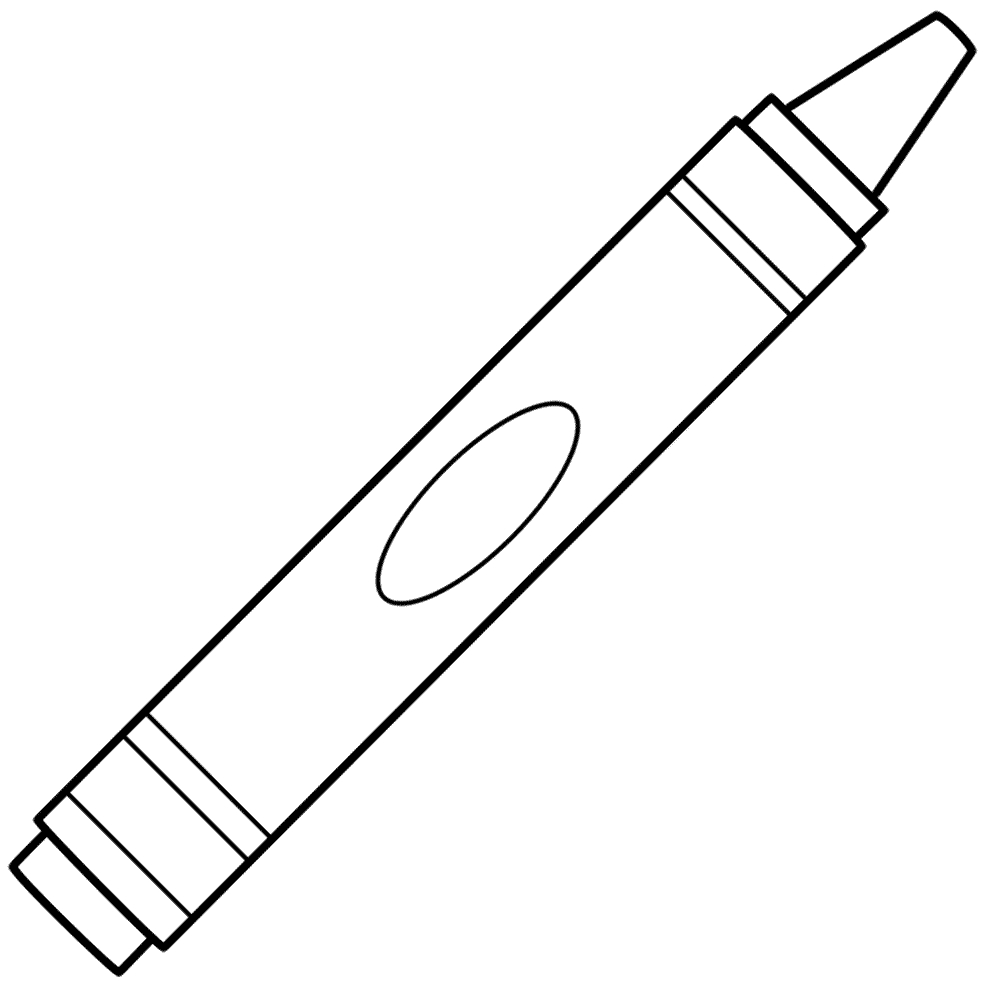 Free Crayon Template, Download Free Clip Art, Free Clip Art On - Free Printable Crayon Pattern