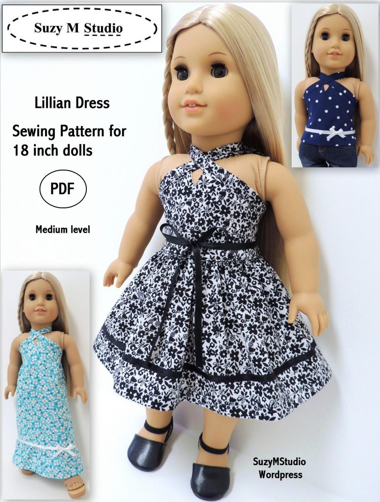 image about Free Printable 18 Doll Clothes Patterns referred to as No cost Crochet Routines For American Lady Doll Outfits Attractive