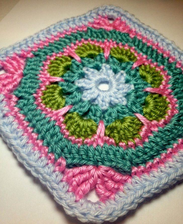 Free Printable Crochet Granny Square Patterns