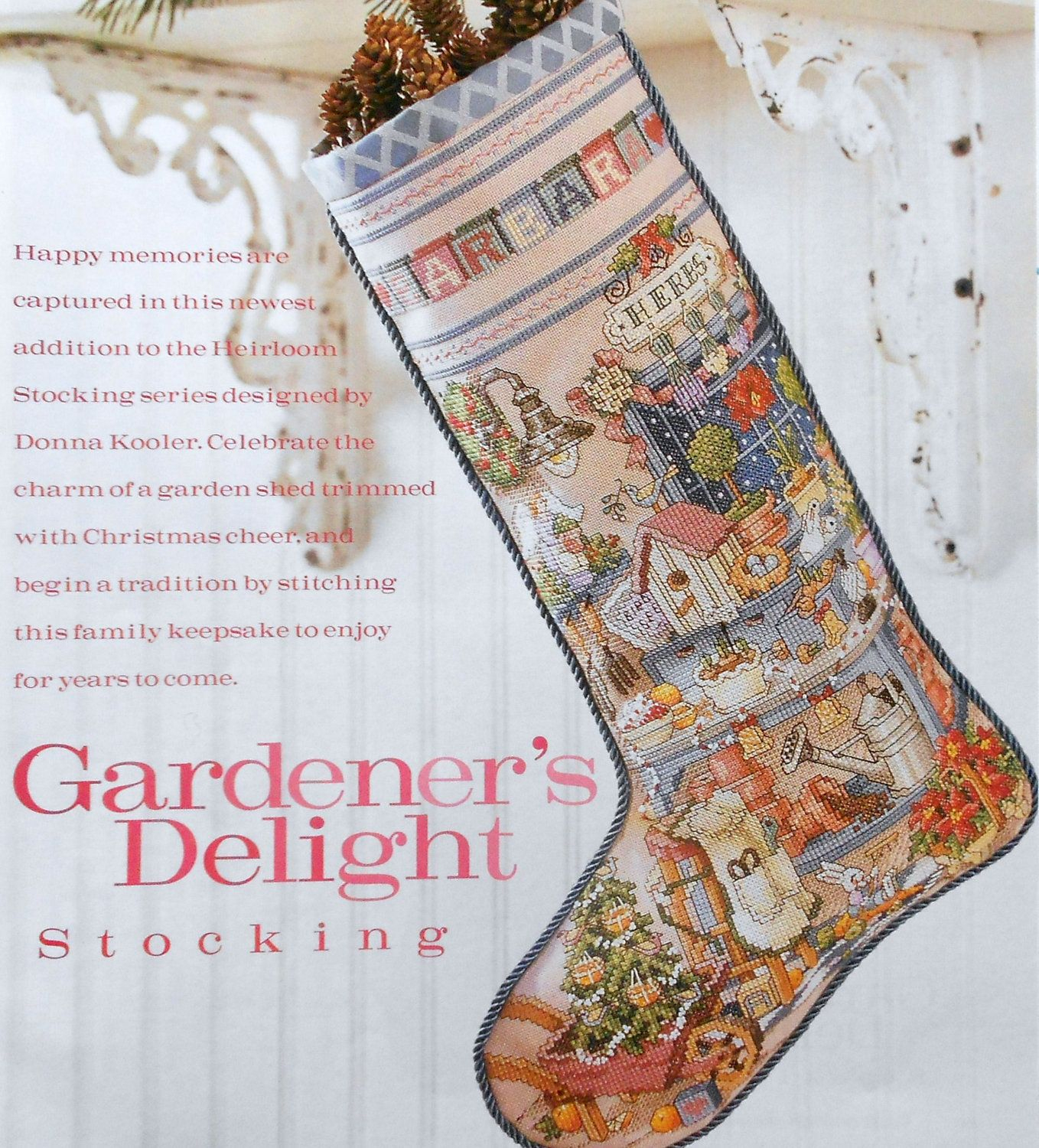 Free Cross Stitch Christmas Stocking Patterns - Google Search - Free Printable Cross Stitch Christmas Stocking Patterns