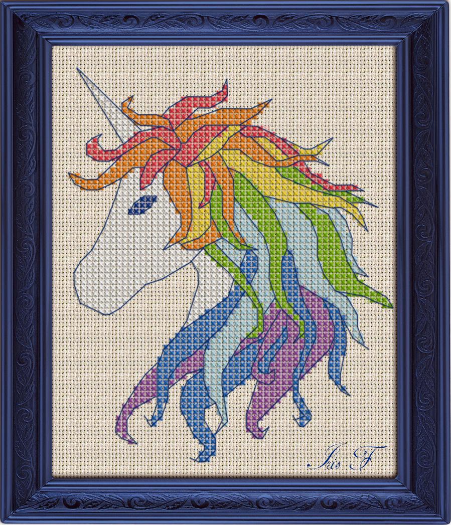 Free Cross Stitch Pattern Unicorn | Diy 100 Ideas - Free Printable Cross Stitch