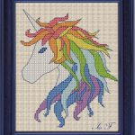 Free Cross Stitch Pattern Unicorn | Diy 100 Ideas   Needlepoint Patterns Free Printable