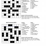 Free Crossword Puzzle Maker Printable   Stepindance.fr   Create A Crossword Puzzle Free Printable