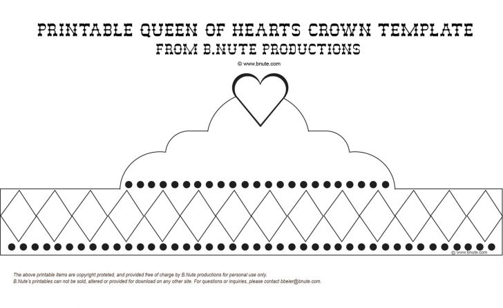 Free Printable King Crown Template