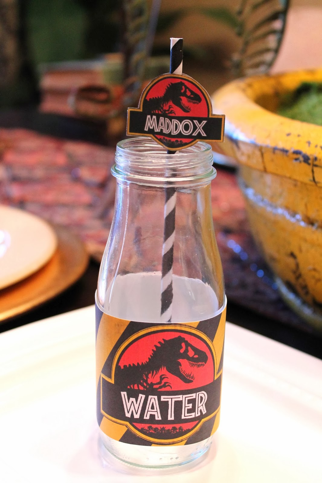 Free Dinosaur (Jurrasic Park) Party Printables - Free Printable Jurassic Park Invitations