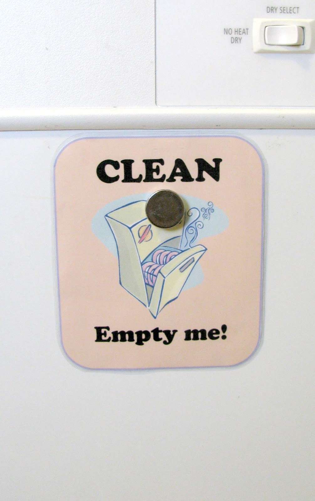Free Dishwasher Clean Dirty Sign Printable - Free Printable Clean Dirty Dishwasher Sign