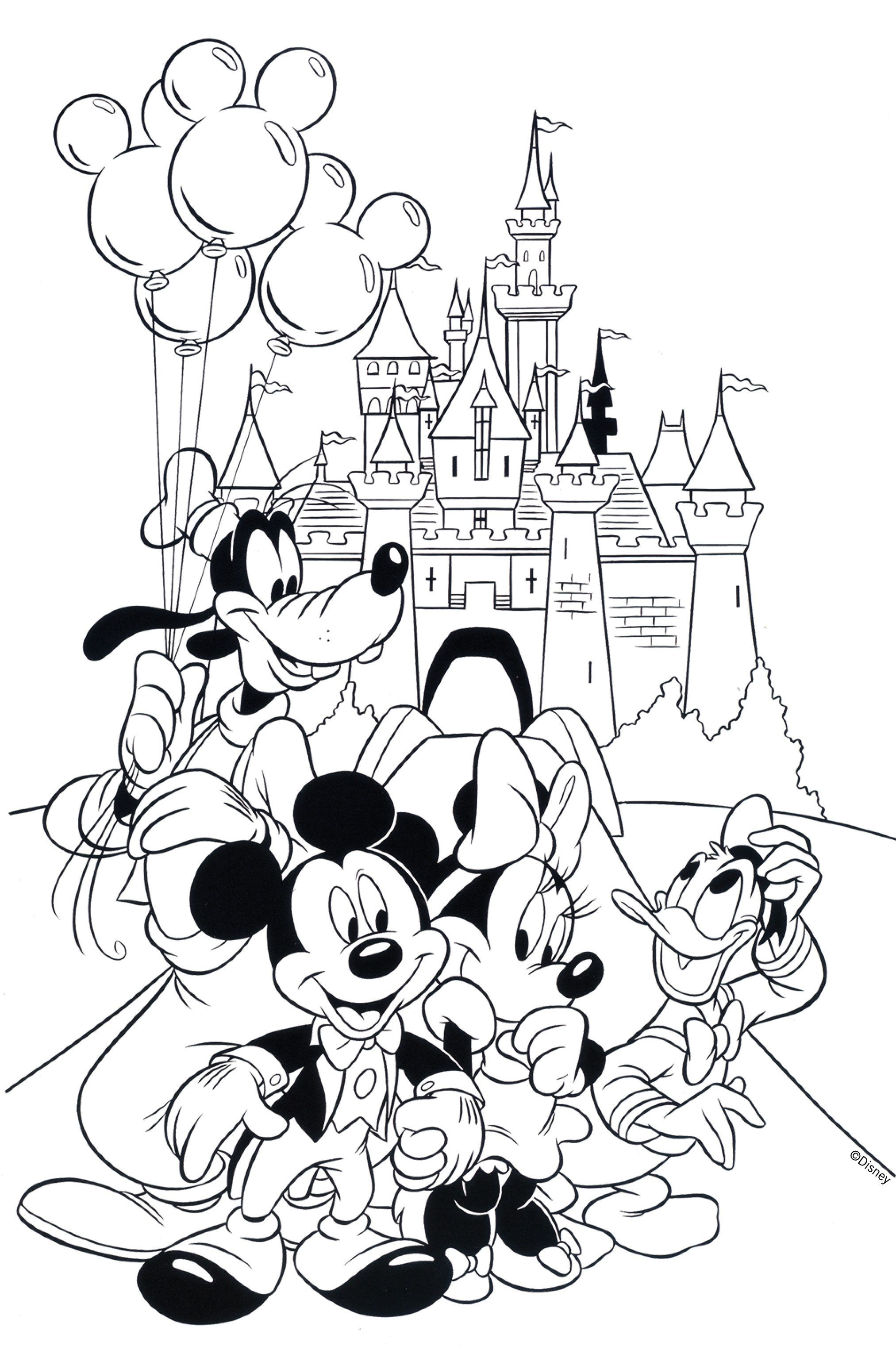 Free Disney Coloring Pages   Coloring Books   Pinterest   Coloring - Free Printable Disney Coloring Pages