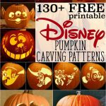 Free Disney Pumpkin Stencils: Over 130 Printable Pumpkin Carving   Free Printable Toy Story Pumpkin Carving Patterns