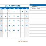 Free Download Printable Calendar 2019, Large Space For Appointment   Free Printable Appointment Sheets