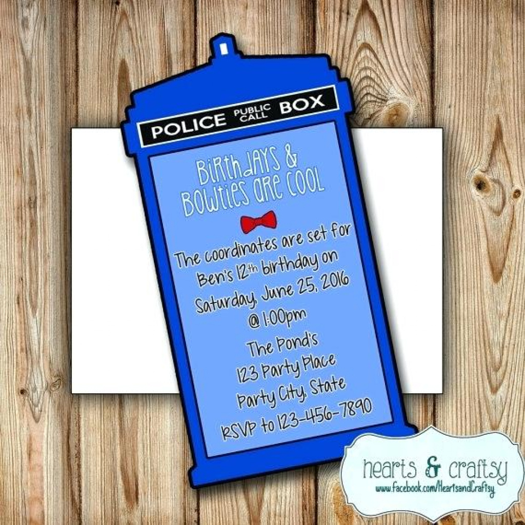 Free Dr Who Printables Doctor Who Party Invitations Printable Free - Doctor Who Party Invitations Printable Free