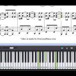 Free Dynamite   Taio Cruz Piano Sheet Music Tutorial   Youtube   Dynamite Piano Sheet Music Free Printable