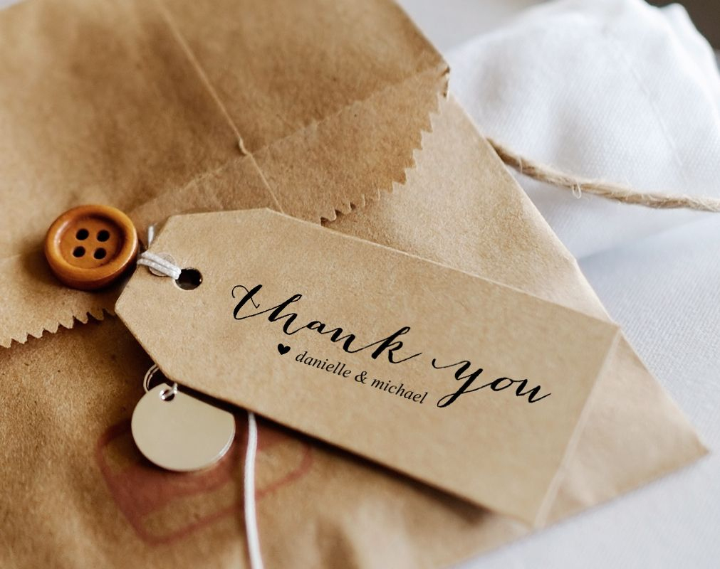 Free Editable Thank You Tag, Wedding Thank You Tags, Gift Tags - Free Printable Thank You Tags