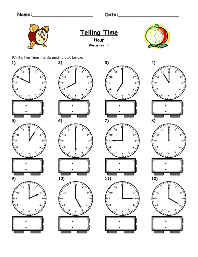 Free Elapsed Time Worksheets | Kiddo Shelter - Elapsed Time Worksheets Free Printable