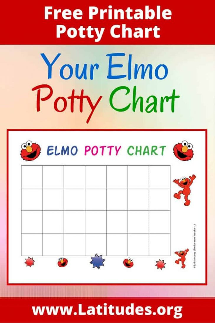Free Printable Potty Training Charts