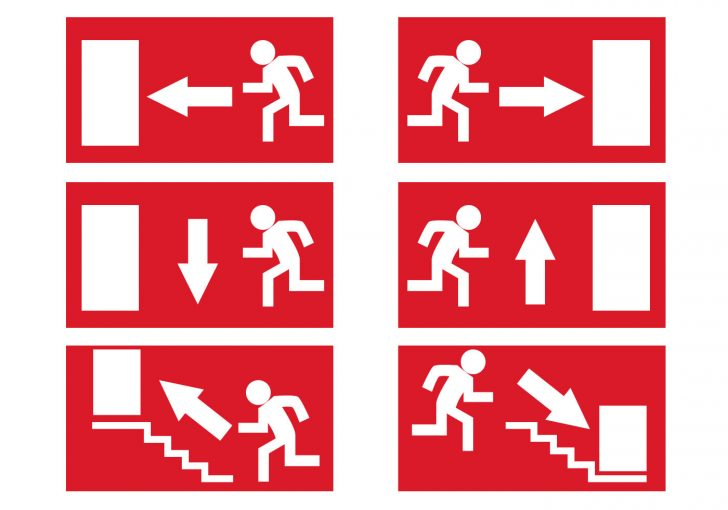 Free Printable Emergency Exit Only Signs