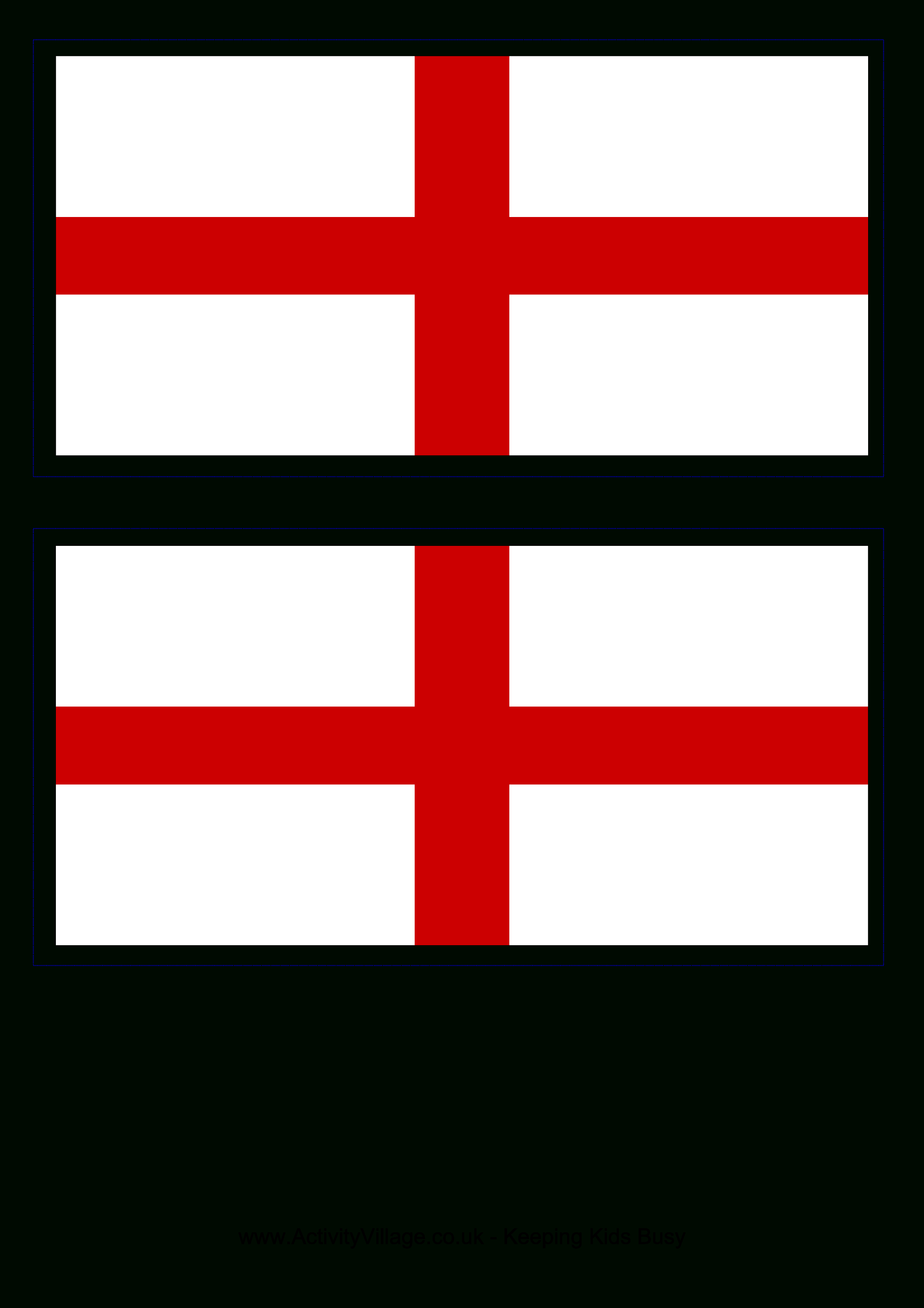 Free England Flag | Templates At Allbusinesstemplates - Free Printable Flags From Around The World