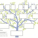 Free Family Tree Template To Print   Google Search … | Grandparents   Family Tree Maker Online Free Printable