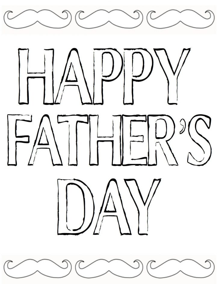 Free Happy Fathers Day Cards Printable