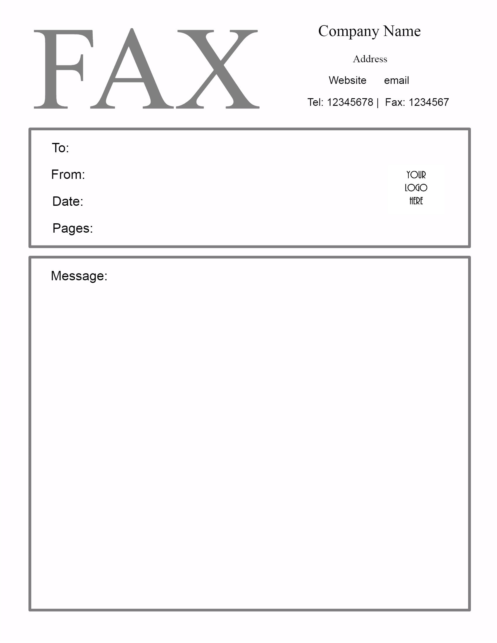 Free Fax Cover Sheet Template   Customize Online Then Print - Free Printable Message Sheets