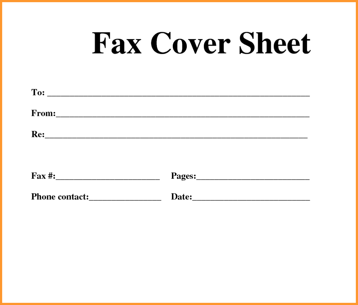 Free]^^ Fax Cover Sheet Template - Free Printable Cover Letter Format