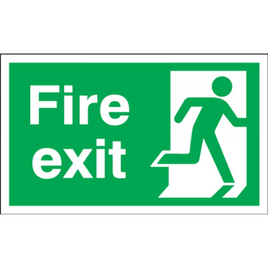 Free Fire Exit Signs, Download Free Clip Art, Free Clip Art On - Free Printable Exit Signs